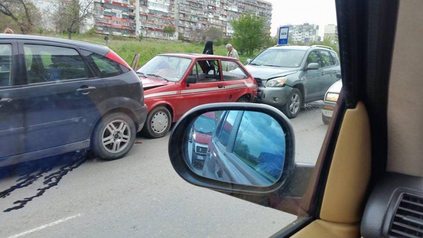 "Тройна катастрофа запуши бул. ""Цар Освободител"" (снимки)"