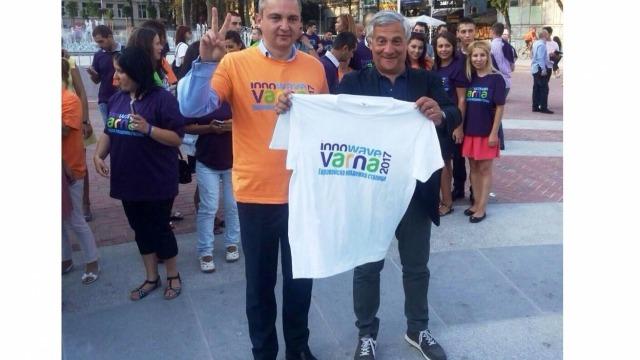 Антонио Таяни прие поканата да посети Варна