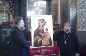 Даряваме икона на българската община в Тараклия