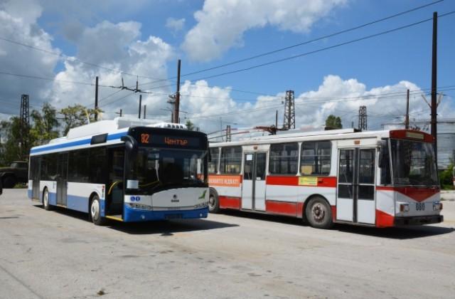 Бракуват тролейбуси ветерани, навъртяли стотици хиляди километри