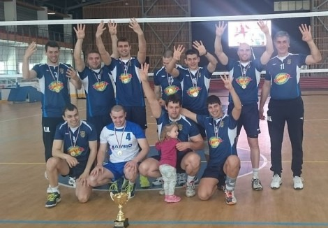 Варненските пожарникари са шампиони по волейбол