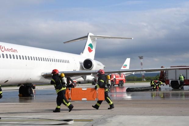 Авиопроизшествие на летище Варна