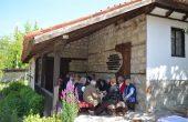 Дарители на Етнографската къща в Кипра се събраха на празнична софра