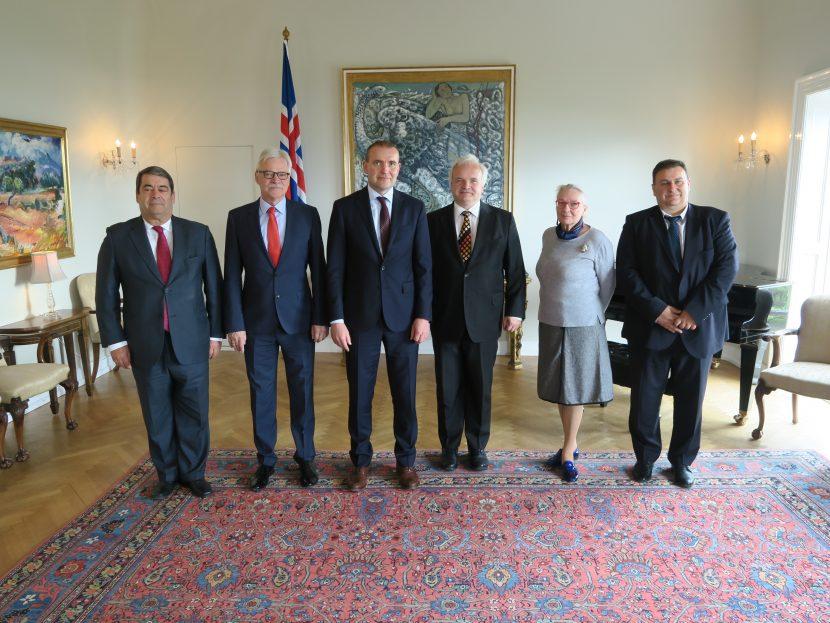 Евродепутатът от ГЕРБ/ЕНП Емил Радев се срещна с президента на Република Исландия Гудни Йоханесон