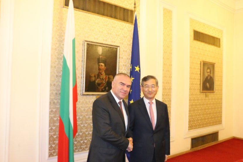 Веселин Марешки: ПП ВОЛЯ е за активизиране на икономическите отношения с Република Корея