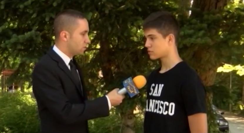 Какво каза ученикът пред Митко Върбанов за боя над котето (видео)
