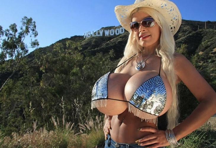 Жената с най-голям бюст в Европа реши да уголеми дупето си, но… (СНИМКИ)