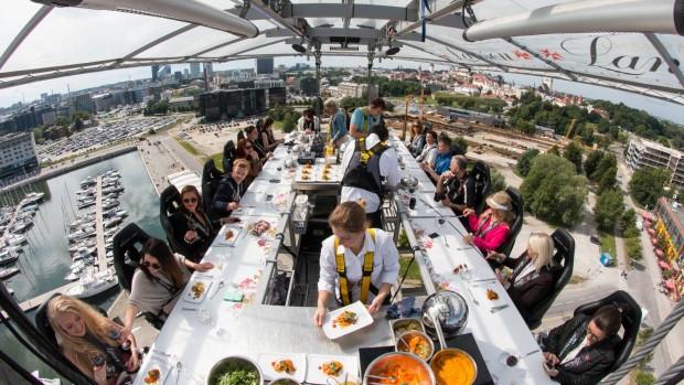 Въздушният ресторант над морето във Варна отваря в средата на юли