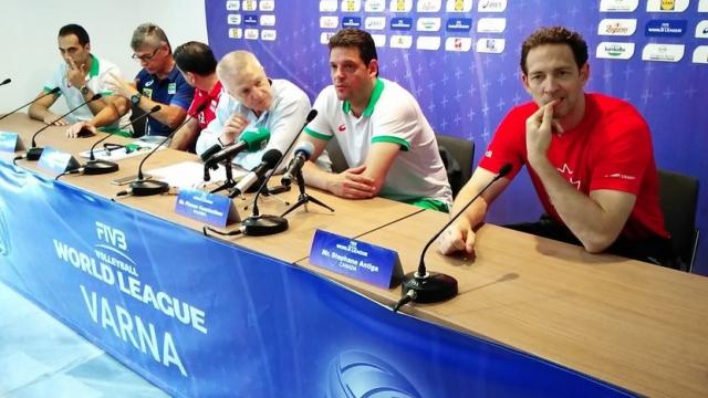 Бразилия посочена за фаворит на Световната лига във Варна