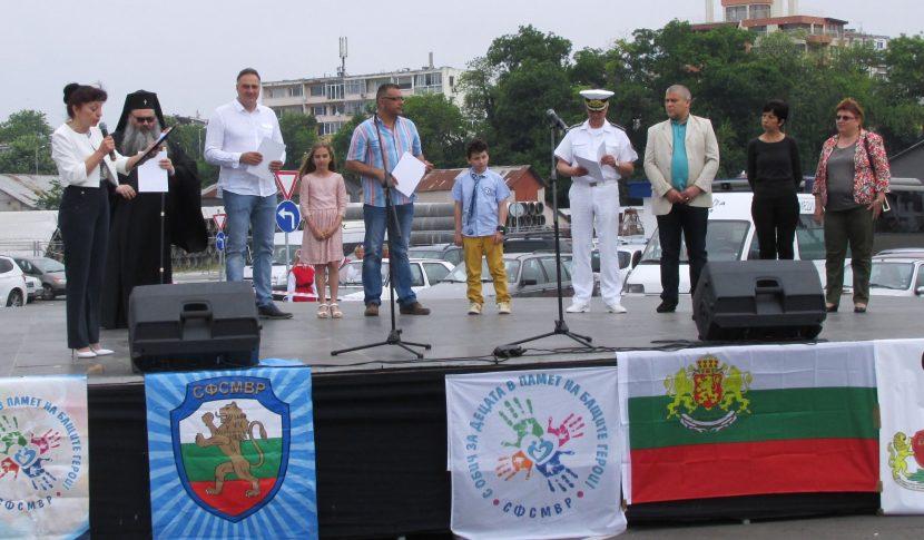 Цветан Цветанов и варненските депутати от ГЕРБ подкрепиха благотворителна кампания за децата на загиналите полицаи и военнослужещи