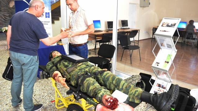 Във Варна обучаваха лекари на първа помощ със симулатор за $200 000