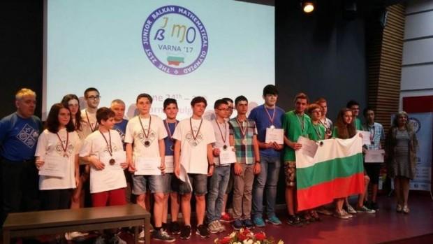 Браво! Български ученици спечелиха 18 медала от Балканиада по математика