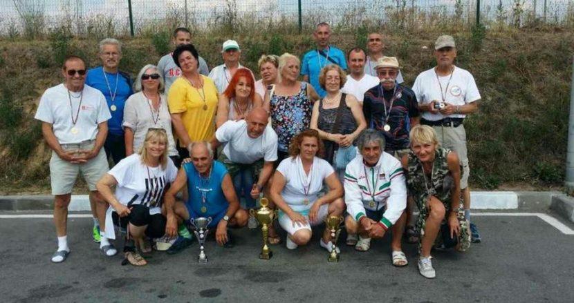 Ветераните на Варна първи в отборното класиране на държавното по лека атлетика (Снимки)