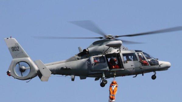 Военен хеликоптер падна край Варна