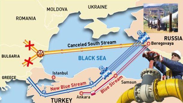 ЕС забрани газ директно от Русия, и позволи газ през още един посредник – Турция…