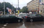 Дъждът предизвика големи големи задръствания във Варна