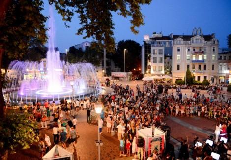 Организират празничен концерт край фонтаните до Драматичния театър във Варна