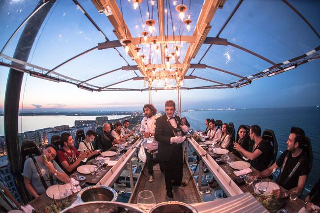 """""""Dinner in the sky"""" със специална оферта за празника на Варна"""