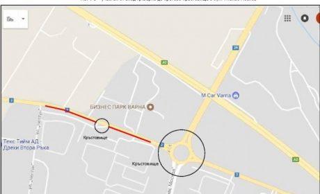 Отклоняват камионите за пристанището от входа на Варна