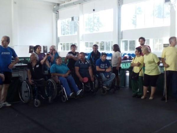Спортисти от Варна доминираха в параолимпийски турнир