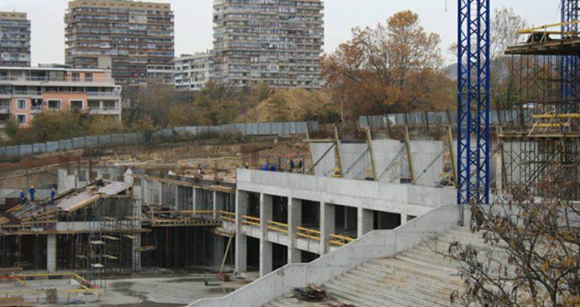 """Димитър Карбов: Строителството на стадион """"Варна"""" временно замразено по технически причини, но ще завърши в срок"""