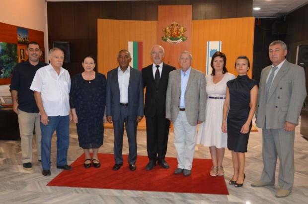 Космонавти от България, Русия и Куба посетиха Варна