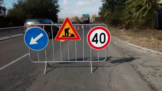 В понеделник започва ремонтът на 14 км от пътя Добрич – Кардам