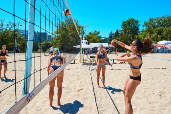 Двустранни спортни срещи край морето между България и Украйна