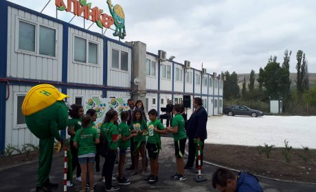 """Детски интерактивен музей """"Пътят на отпадъците"""" беше открит в Девня"""