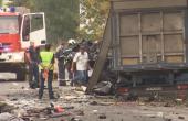 Видео от тежката катастрофа на пътя Варна - Добрич