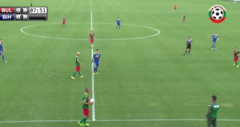 Трима футболисти на Черно море играха за националния при 4:4 срещу Босна и Херцеговина