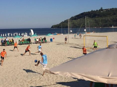 МФК Спартак и СА-МВР започнаха с победи в Супер финала на държавното по плажен футбол във Варна