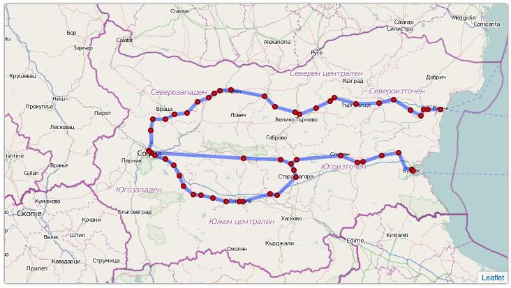 Пътуваме от София до Варна за 6 лева
