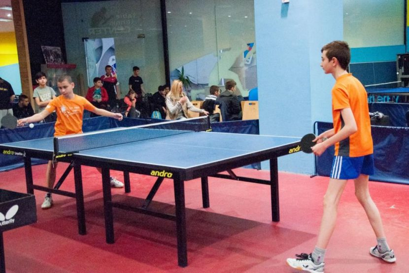 Открит урок по тенис на маса във Варна