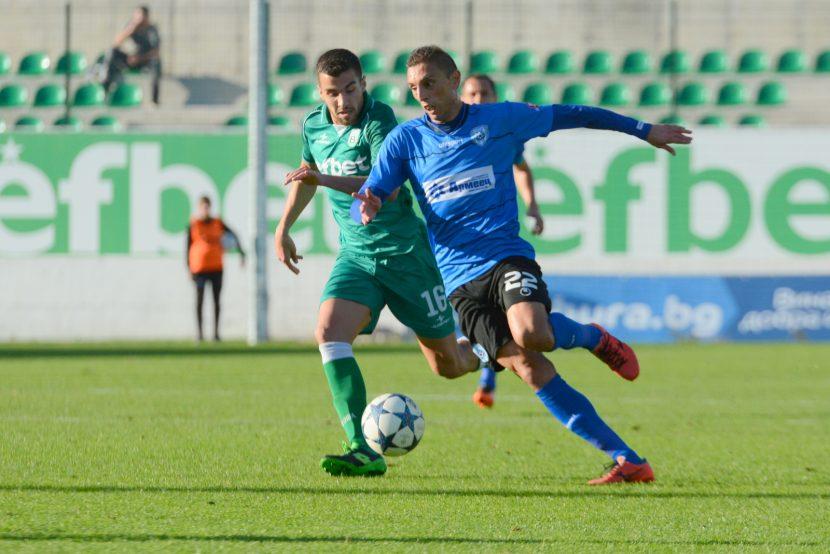Черно море удари Витоша и взе нови три точки в Първа лига