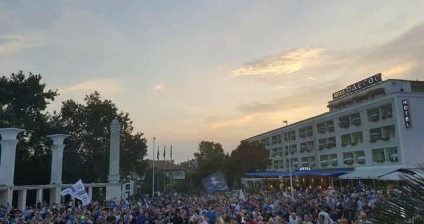 Спартак правят футболен мач пред Общината