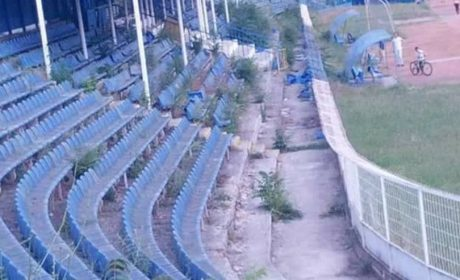 Феновете на Спартак показаха разрухата на любимия им стадион (снимки)