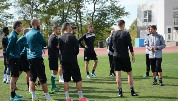 Черно море започна подготовка за мача с Лудогорец