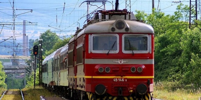 Пожар горя във влака от Варна за София
