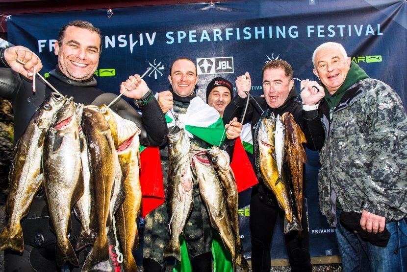 Варненци с четвърто място на силно състезание по подводен риболов