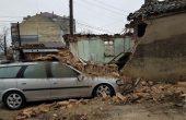 Къща рухна след силния дъжд (снимки)