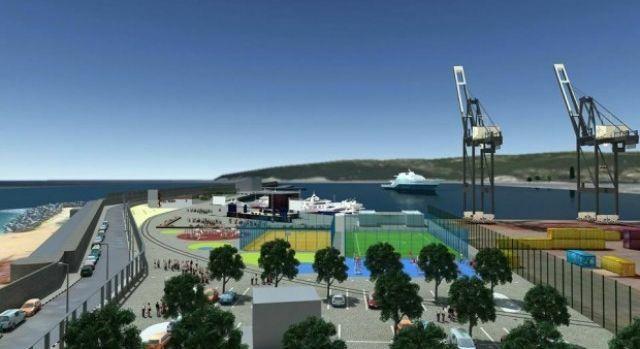 Нов паркинг на пристанището решава проблема със спирането в центъра