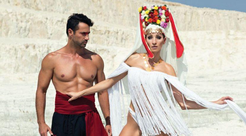 Завръщане към корените – Български етно мотиви, женска сила и щипка магия в календара на агенция Алиа моделс за 2018 година