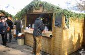 Подготвят къщичките за коледния базар на площад
