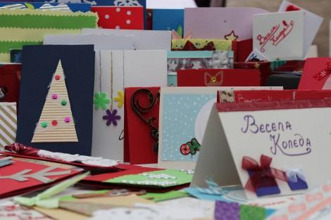 Пускат благотворително картички за Дневния център за деца с множество увреждания във Варна
