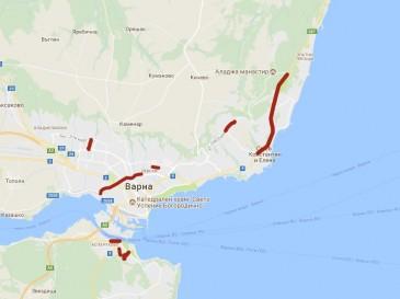 Ремонтират осем обекта от пътната инфраструктура във Варна