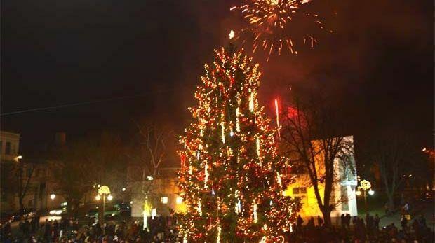 За първи път Варна украсява елха през 1901 година