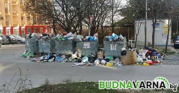 Определиха колко често да се извозва боклукът във Варна през 2019-та