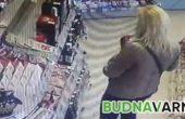 Нагла кражба на бензиностанция (видео)