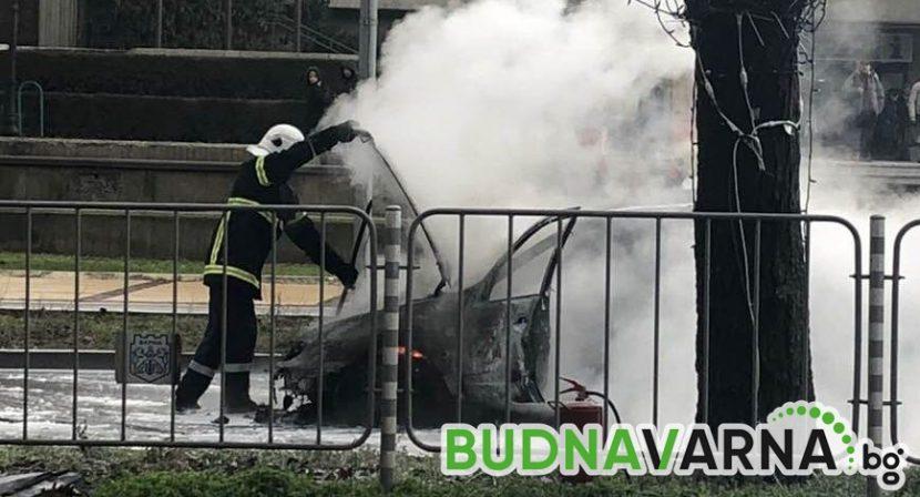 Бързата реакция на пожарната и пожара е изгасен (снимки)